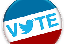 Twitter Vote Button Icon