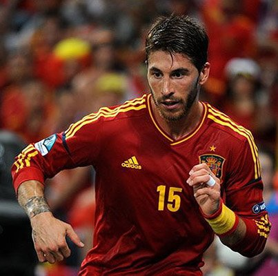World Cup Spain Sergio Ramos Photo