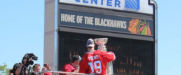 Jonathan Toews Stanley Cup Photo