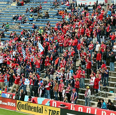 Chicago Fire Attendance Photo