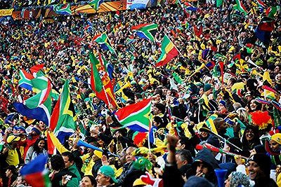 World Cup 2010 Fans South Africa Photo