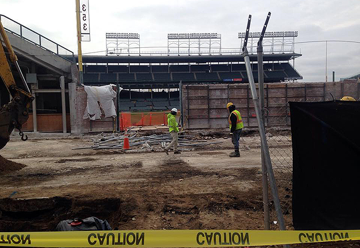 Wrigley Field Renovations Photo