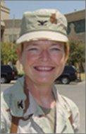 Jill Morgenthaler in Baghdad, Iraq. (Courtesy photo)