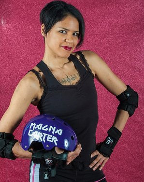 Monical Carter Roller Derby Photo