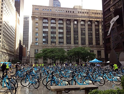 Divvy Bikes Chicago Photo