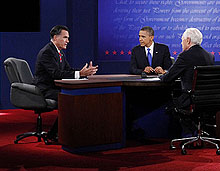 Third Debate Photo