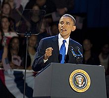 Obama Speech Photo