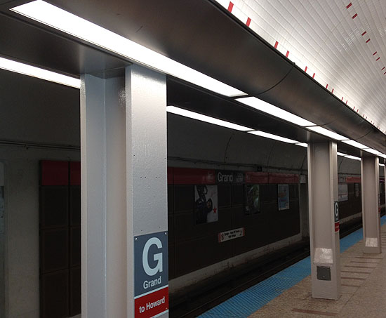 Grand Stop Lighting Photo