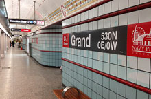 Red Line Grand Stop Photo by Mike Reilley
