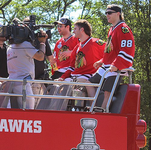 Patrick Kane Stanley Cup Interview