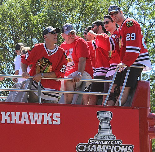 Bryan Bickell Stanley Cup Parade Photo