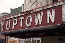 Uptown Theatre Sign Photo by James Mazurek