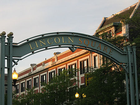 Lincoln Square Photo by Jamie Kogler