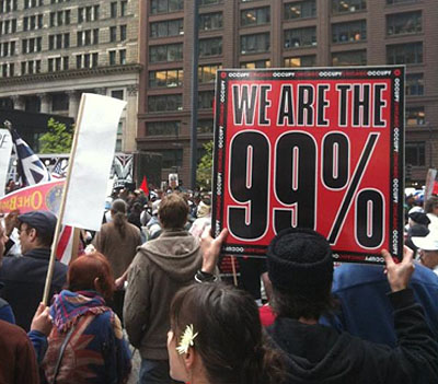 Occupy protest photo by Paul Tadalan