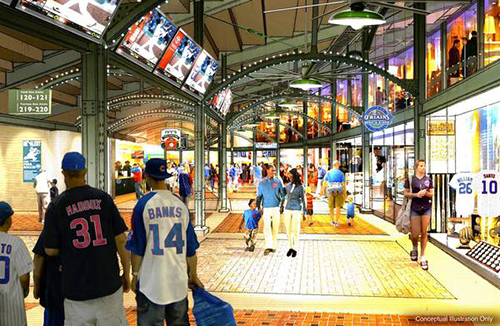Fan Concourse Rendering