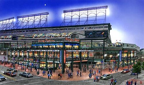 Wrigley Field Renovation Rendering Photo