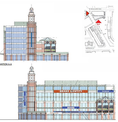 Wrigley Triangle Building Rendering