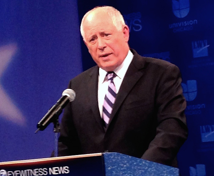 Pat Quinn Debate Photo